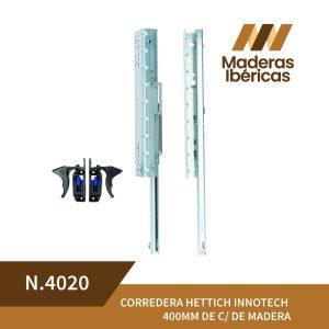 CORREDERA HETTICH INNOTECH 400MM DE C/ DE MADERA