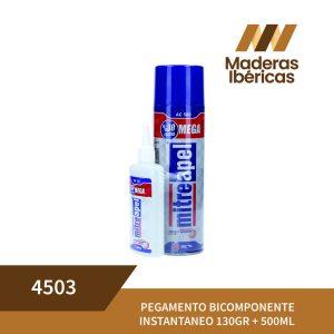 PEGAMENTO BICOMPONENTE INSTANTANEO 130GR + 500ML